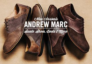Shop Andrew Marc: Suede Shoes & Boots