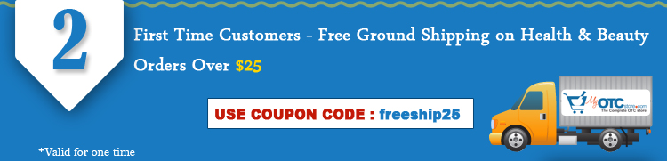 Free Ground Shipping on Health & Beauty orders over $25