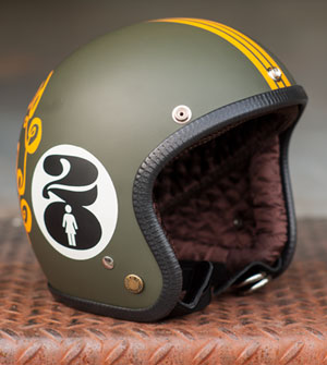 Joe King Helmet - Swirl