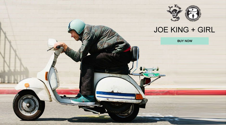 Joe King + Girl Helmet