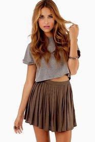Chilton Pleated Skirt 28