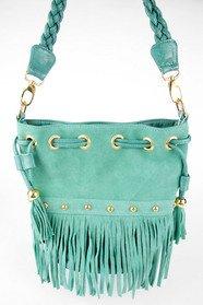 Braided Fringe Bucket Bag 46