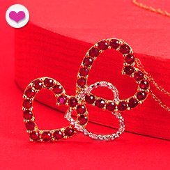 Valentine's Day is Coming: Red Ruby Jewelry