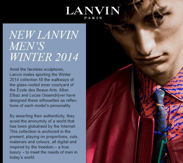 LANVIN WINTER 2014