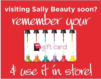 sally beauty gift card