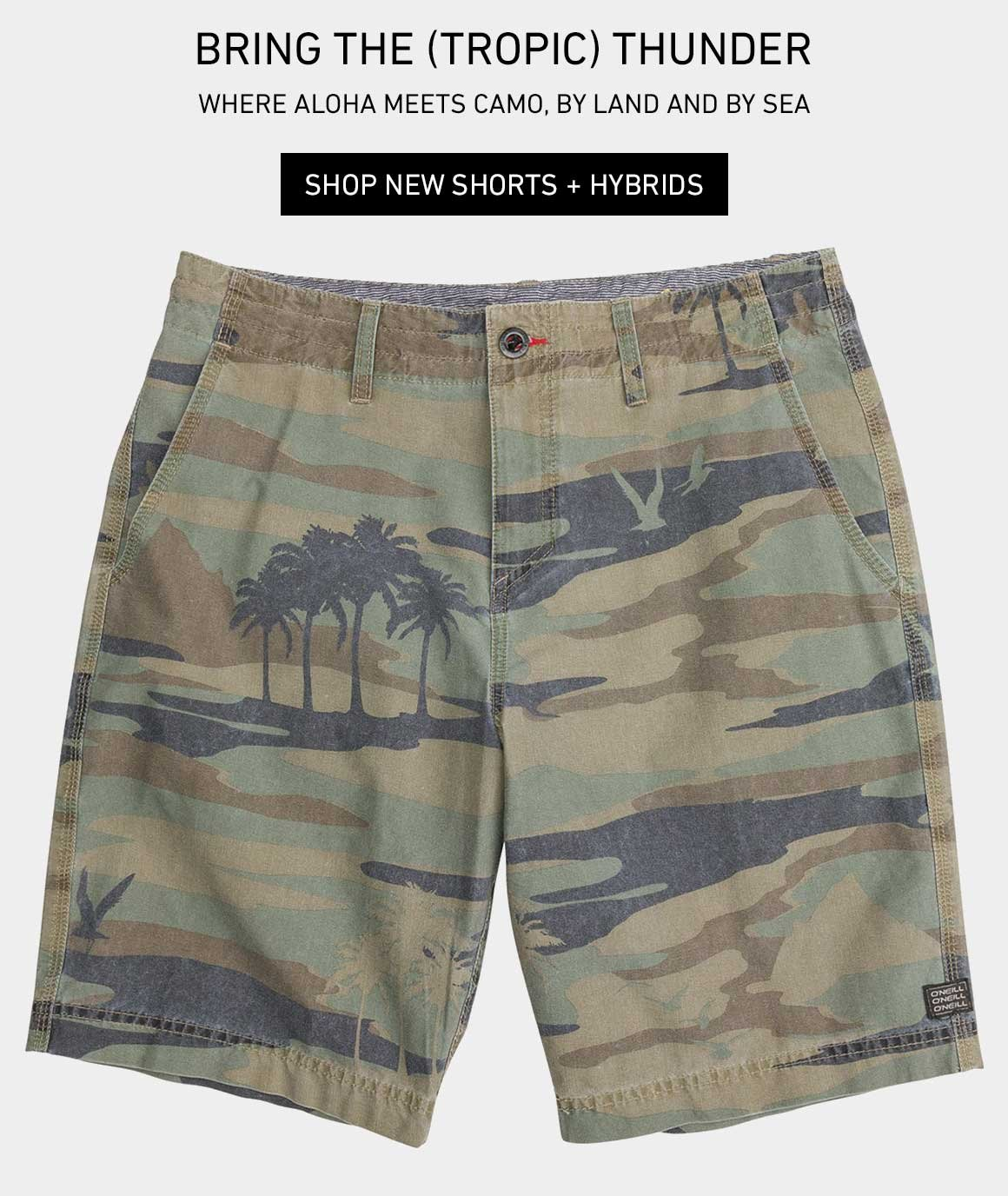 Bring The (Tropic) Thunder: New Shorts