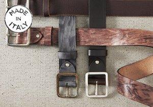 Made in Italy: Gordon Rush Belts