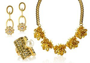 Gold Accents: Jewelry