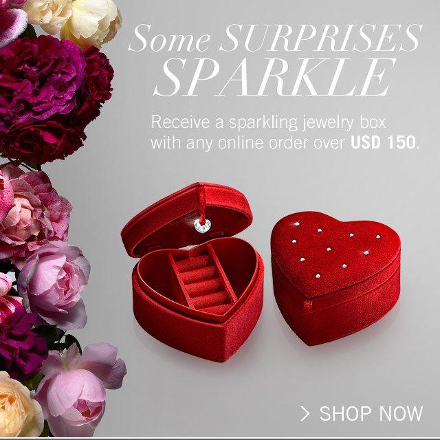 Some surprises sparkle