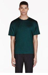 VALENTINO Emerald Single Stud T-shirt for men