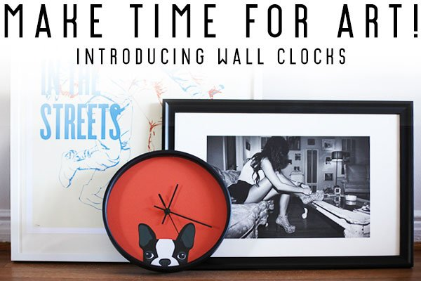 Introducing Wall Clocks on Society6