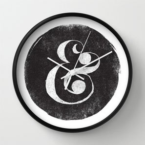 Ampersand Clock