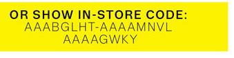 Show In-Store Code