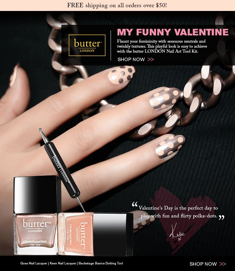 Nail your Valentine's Day beauty look