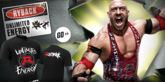 "NEW: Ryback ""Unlimited Energy"" Authentic T"