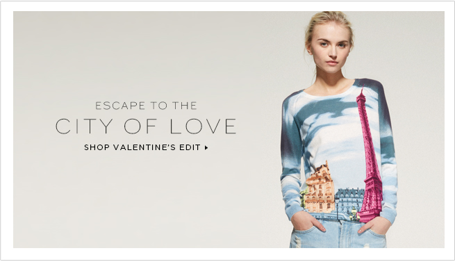 Escape to the City of Love: Shop our Valentine's Edit