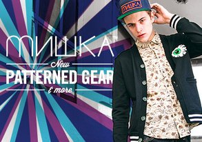 Shop Mishka: NEW Patterned Gear & More