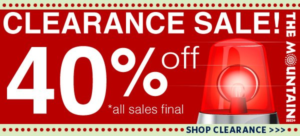 Clearance Sale! 40% off! *all sales final.