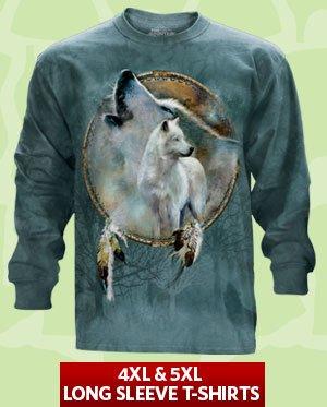 Clearance 4XL & 5XL Long Sleeve T-Shirts. Shop Now!