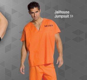 Shop Jailhouse Jumpsuit