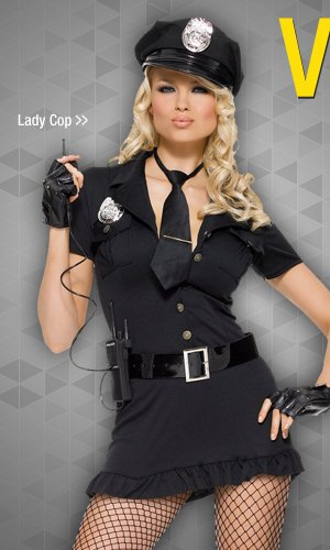 Shop Lady Cop