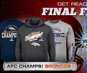Shop Broncos Big Game Gear