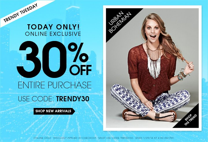 $10 OFF $50 Online Purchase!