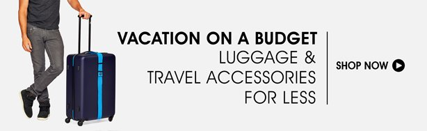 Shop Luggage & Travel Accessories For Less