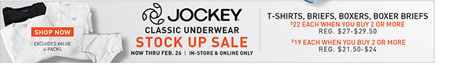 Shop All Sale Jockey