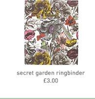secret garden ringbinder