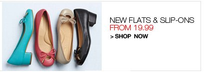 Shop Flats and Slip-ons, from 19.99