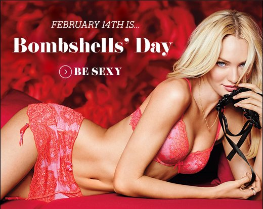 February 14th is Bombshells' Day