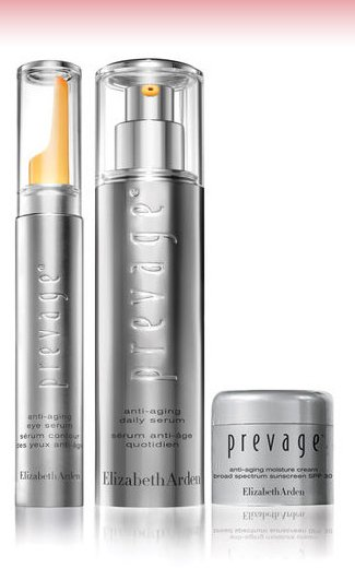"Online Only! PREVAGE® ""Results-in-4-weeks"" PROTECTION KIT, ($277 value), NOW $220."