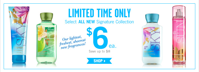 Select All New Signature Collection – $6