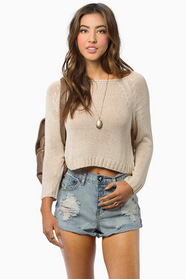 Keira Cropped Sweater 32
