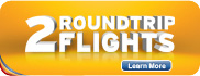 2 Roundtrip Flights