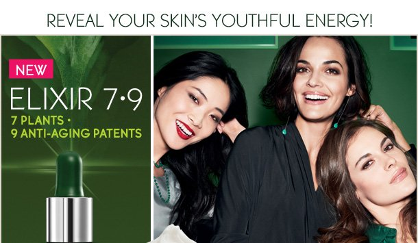 REVEAL YOUR SKIN'S YOUTHFUL ENERGY!