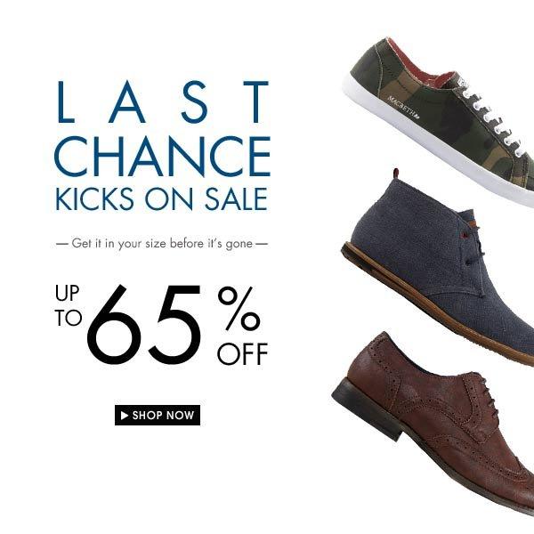 Last Chance Sale!