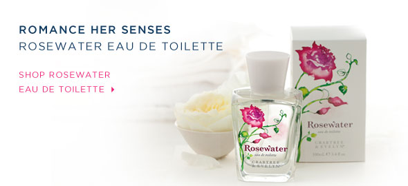 Shop Rosewater Eau de Toilette.