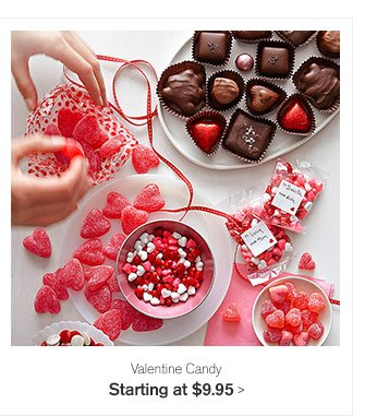 Valentine Candy Starting at $9.95