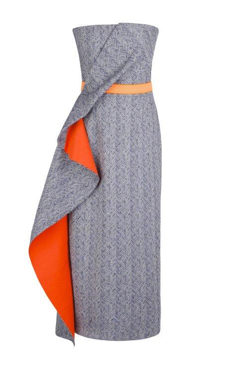 Vida Dress with Tangerine Belt