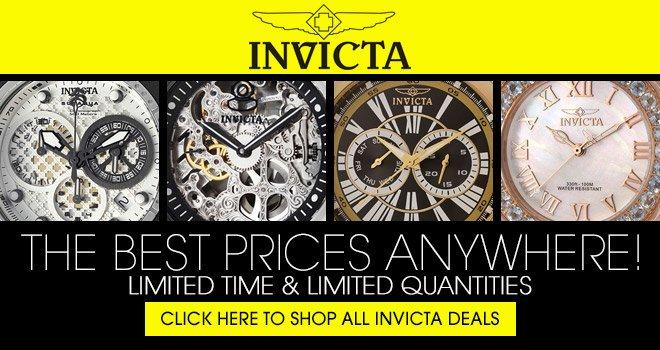 ewatches Invicta Watch Sale
