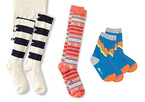 Stock Up: Kids' Socks & Tights