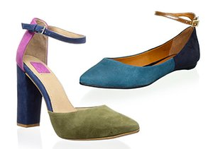 The Ankle Strap: Flats & Heels