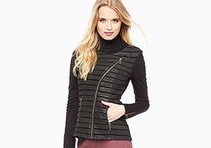 Rocker Chic: Leather Jackets