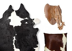 Wild Side: Luxe Hides & Animal Décor