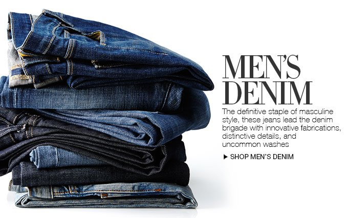 Shop Denim for Men