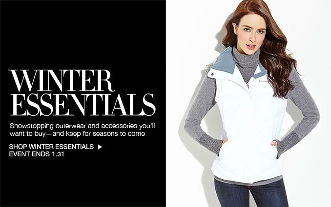 Shop Winter Outerwear for Women