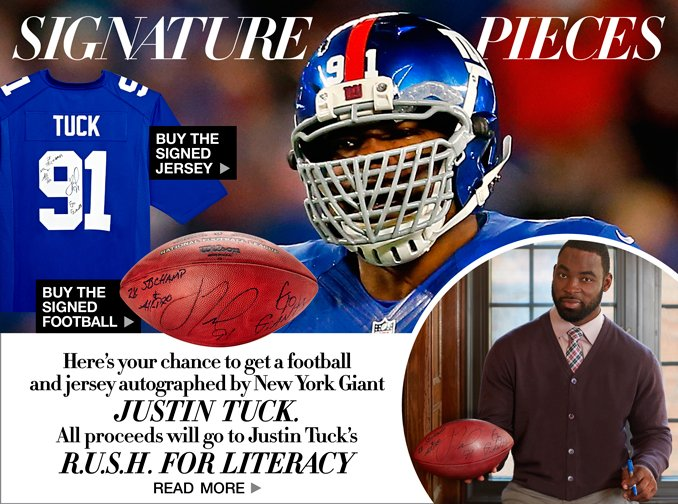 Shop The Look Of Justin Tuck