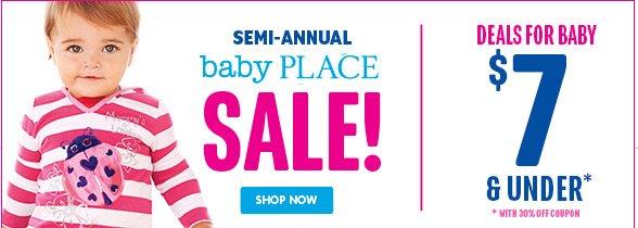 Baby Sale Semi Annual!